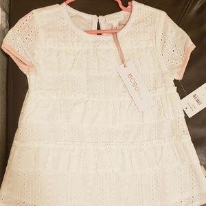 BCBG toddler lace cotton top. Size 3t